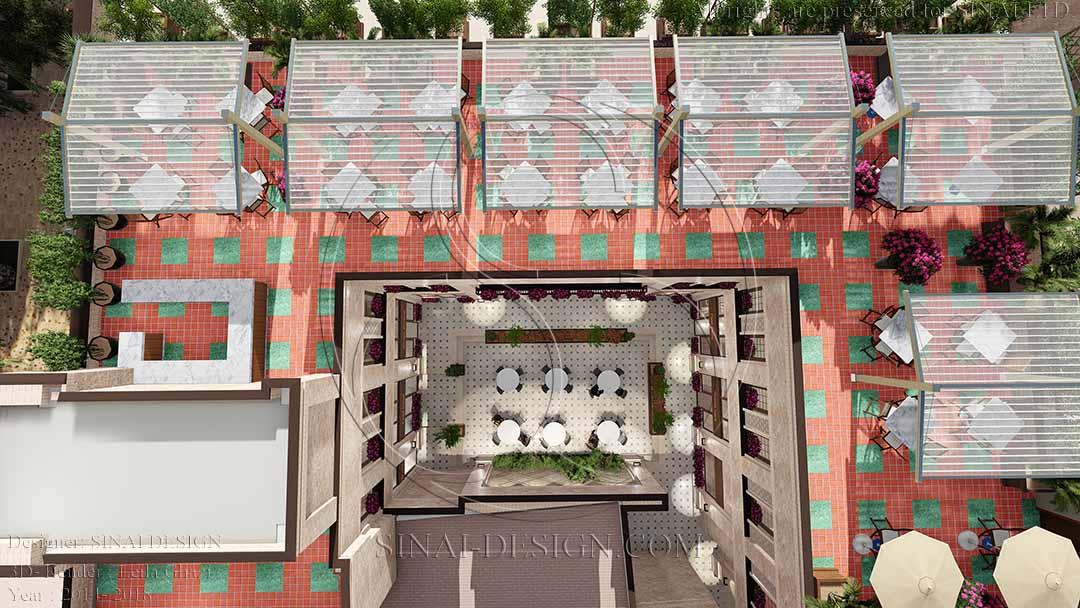 Roof Garden Nikan Commercial Complex
